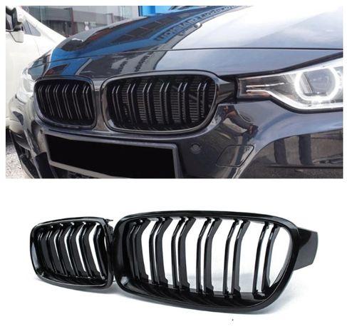 Grile Flexzon Pentru BMW F30 F31, Lucios, Negru, M3 tip 2012+ NOU !!!