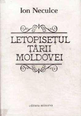 Letopisetul Tarii Moldovei de Ion Neculce