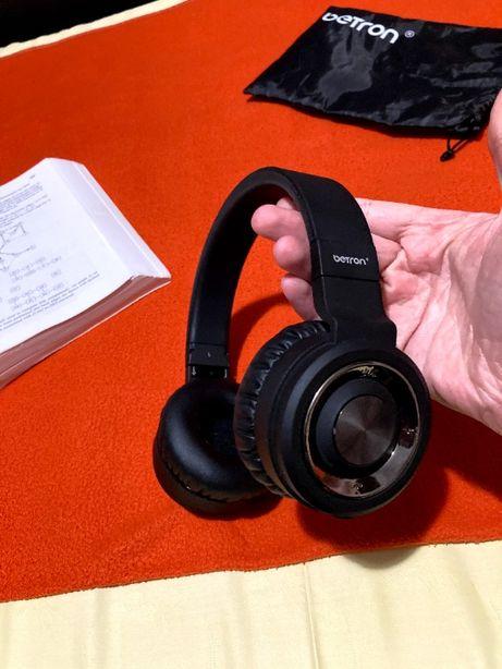 Betron BN15 Casti Wireless Bluetooth, Jack 3.5mm, Microfon