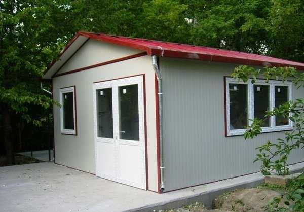 Containere tip casa, birouri modulare, garaje auto din panou sandwich