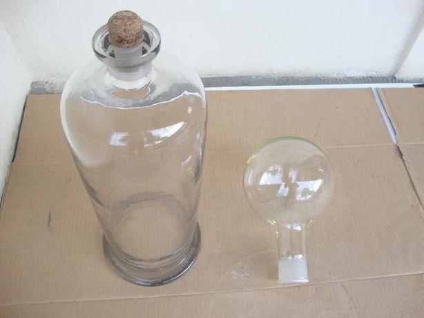 Clopot si balon din sticla pentru laborator