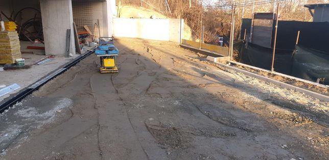 Construim ziduri de sprijin,drenuri,case,pavaje montaj gazon,garduri,t
