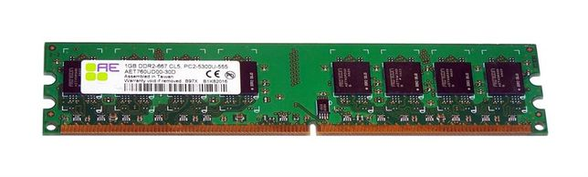 Memorie RAM 1Gb DDR2 667Mhz PC2-5300 AET760UD00-30D