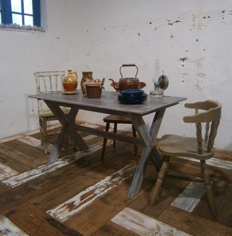 Masa din lemn masiv reconditionata (Mobila)