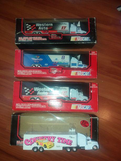 Masinute vechi camioane transport masini cursa Nascar Ford 1991-1993