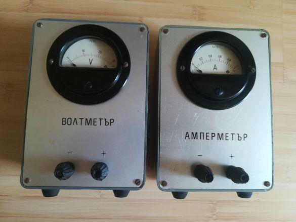 Волтметър/амперметър 1970г.