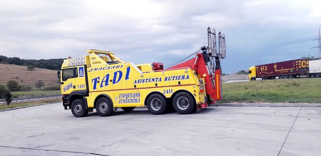 Tractari camioane Sibiu