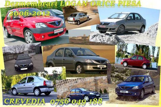 Dezmembrari Dacia Logan motor, far, stop, capota, bara, usi, radiator