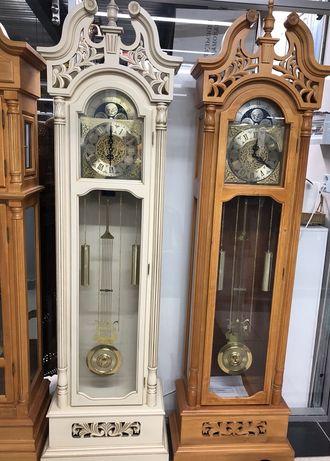 Часы напольные кварцевые