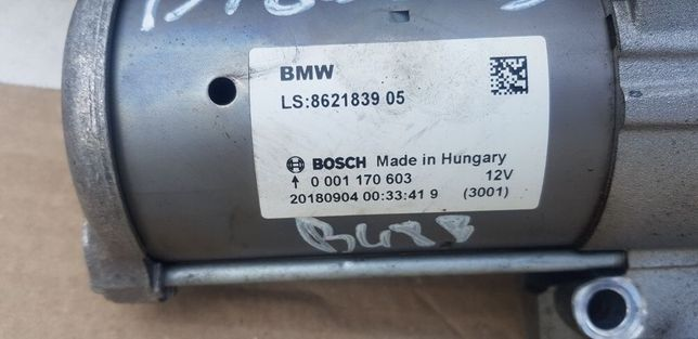 Electromotor bmw f20 f30 b38 b48 2.0i 3.0i
