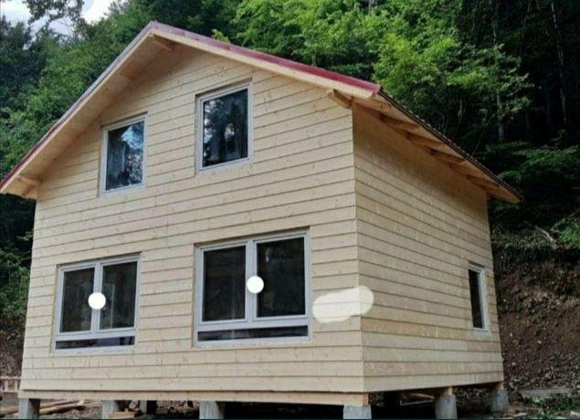 De vânzare case Doriți o casa din lemn, o cabana, un foișor sau o casu