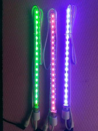 Продавам LED осветление за аквариум