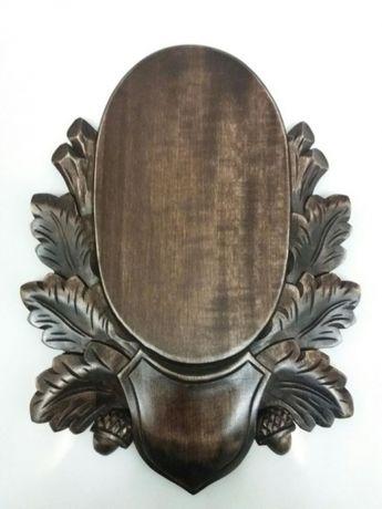 Panoplie caprior/tap din lemn