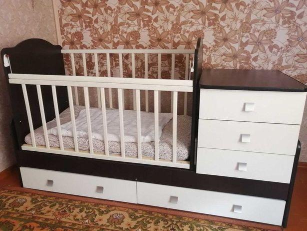 Детская кроватка, трансформер, манеж