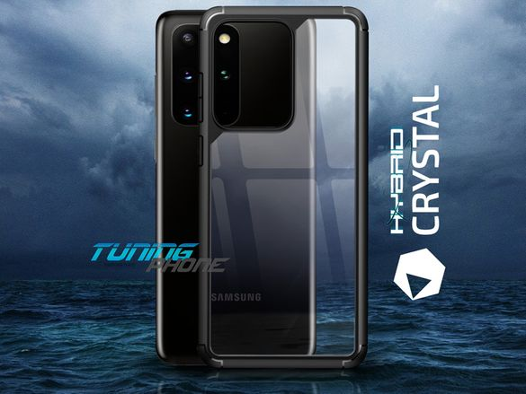 Кейс за Galaxy S20 / Plus / Note 20 / Ultra - Crystal Hybrid X