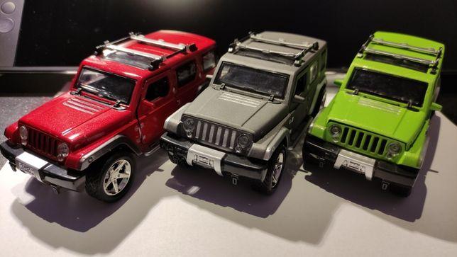 Jeep Wrangler macheta metalica auto, noua