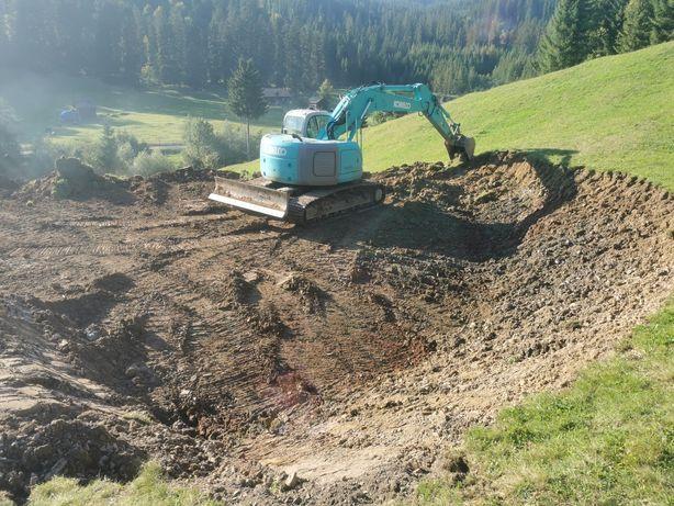 Excavator Kobelco 235 SR cu lama