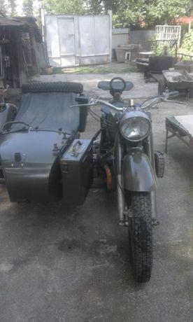 Продам или обменяю военный мотоцикл МВ 750, 1975 года