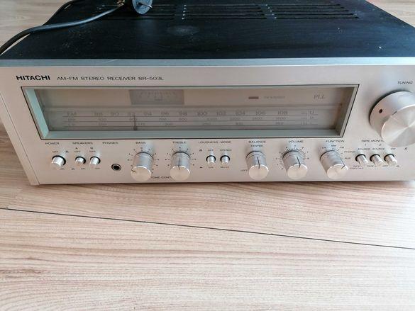 Hitachi  AM-FM stereo receiver SR-503L