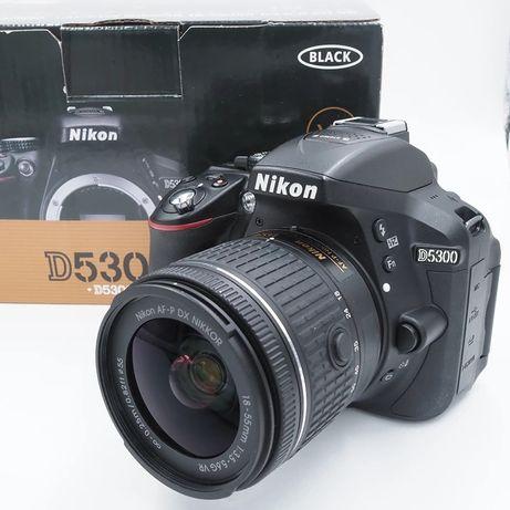 Зеркальный фотоаппарат Nikon D5300+AF-P 18-55 VR