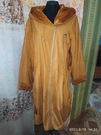 Комфортный плащ-пальто 56-58рр