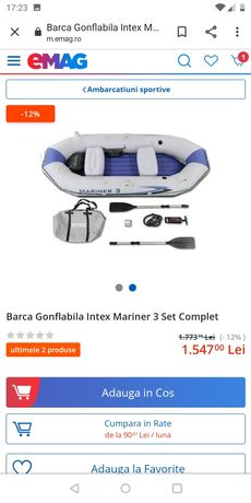 Barca Intex mariner 3