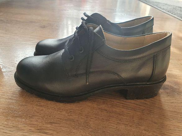 Дамски български обувки Кавалер от естествена кожа - 40