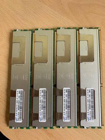 Memorie ram ddr3 4x 4GB ECC Server