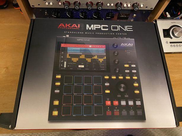 Akai MPC One сэмплер грувбокс мечта битмейкера