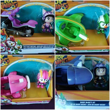 Set vehicul si figurina Nickelodeon - Top Wing