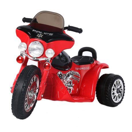 Motocicleta electrica pentru copii, POLICE JT568 35W STANDARD #Rosu