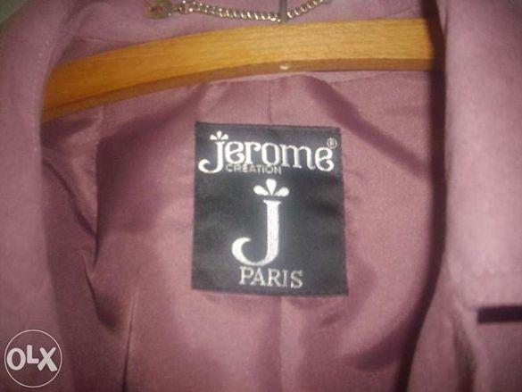 Ново френско манто - естествен велур с подарък сако!