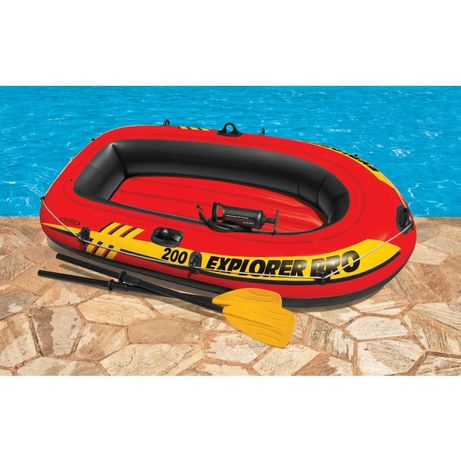 Barca gonflabila/pneumatica Intex pentru 2 persoane 196x102x33cm