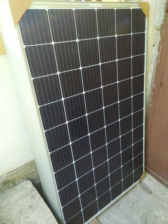 Мрежов инвертор с ограничител и соларни панели.