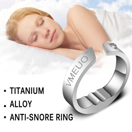НОВО!Титаниев пръстен против хъркане