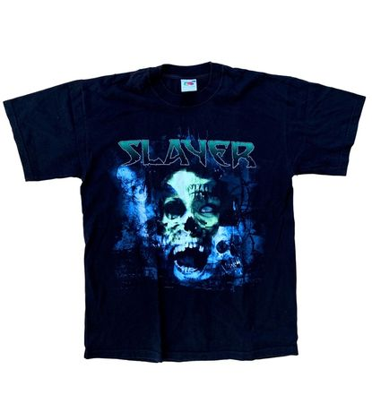 Tricou rock rocker trupa Slayer Marimea M Negru bb5