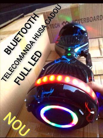 Hoverboard Nou Lighting Black