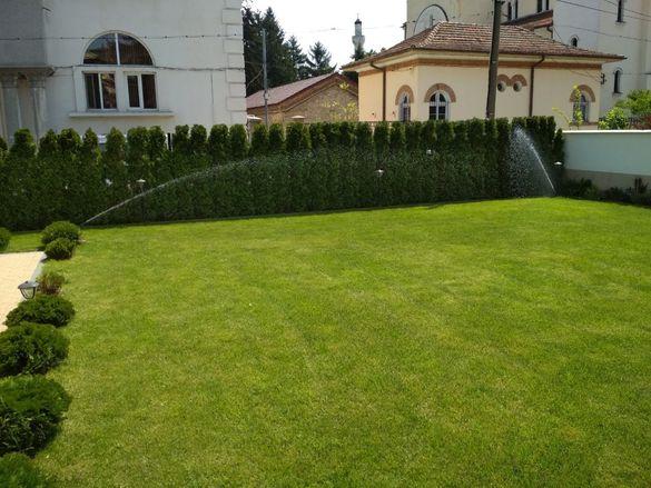 Озеленяване и поливни системи