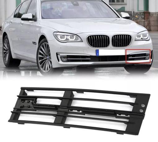 355 Решетка предна броня BMW f01 f02 халоген панел ф01 бмв ф02 фар