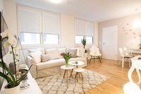 Красивая двухкомнатная квартира в районе Меги!