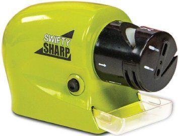 Точилка для ножей электрическая беспроводная Swifty Sharp (4 в 1)