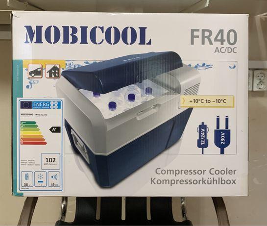 Frigider/congelator 12/220V, MOBICOOL, 39l, compresor, nou