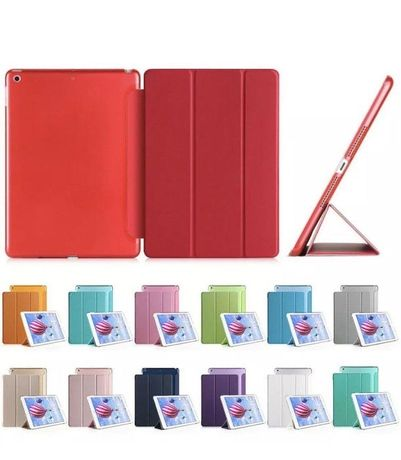 Husa iPad 8,7, 6, Air 1,2,3 Pro,2017,2018,2019 Black,Red,Roz NOI
