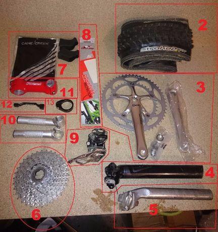 Вело части, нови и употребявани, разпродажба
