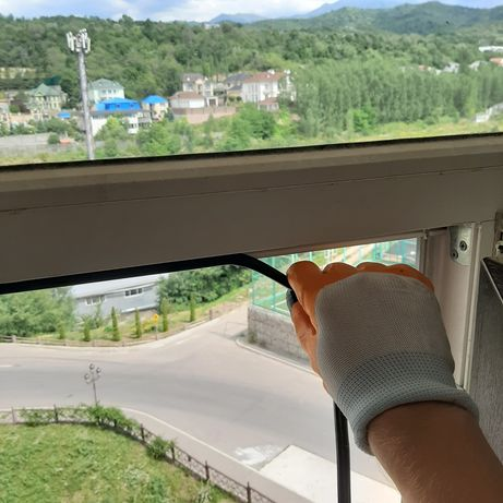 Ремонт окон и дверей пластиковых. Утепление. Защита для детей. Алматы