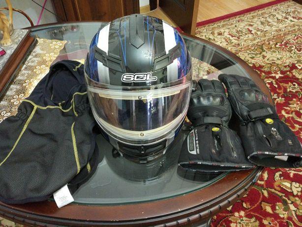 Продам шлем с подогревом .