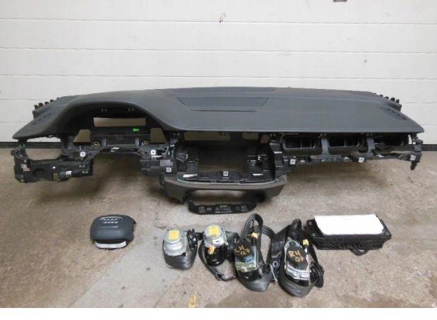Audi q7 4m 4mo q8 plansa bord kit airbag volan s pasager cortina borna