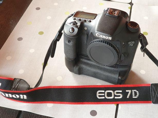 Canon 7d dslr+grip