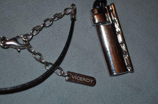 PANDANTIV ARGINT 925 + Snur de piele - De firma - VICEROY -Unisex -NOU