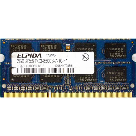 Memorii RAM 2GB PC3-8500 DDR3 1066Mhz